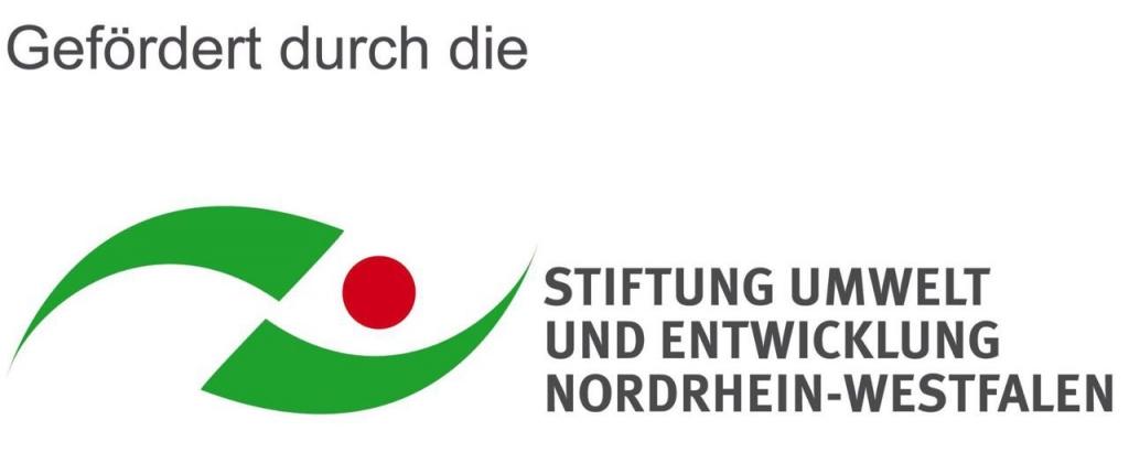 Gefördert durch die Stiftung Umwelt und Entwicklung Nordrhein-Westfalen